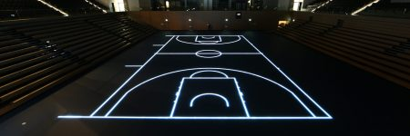 BallsportArena Basketball lines -dark